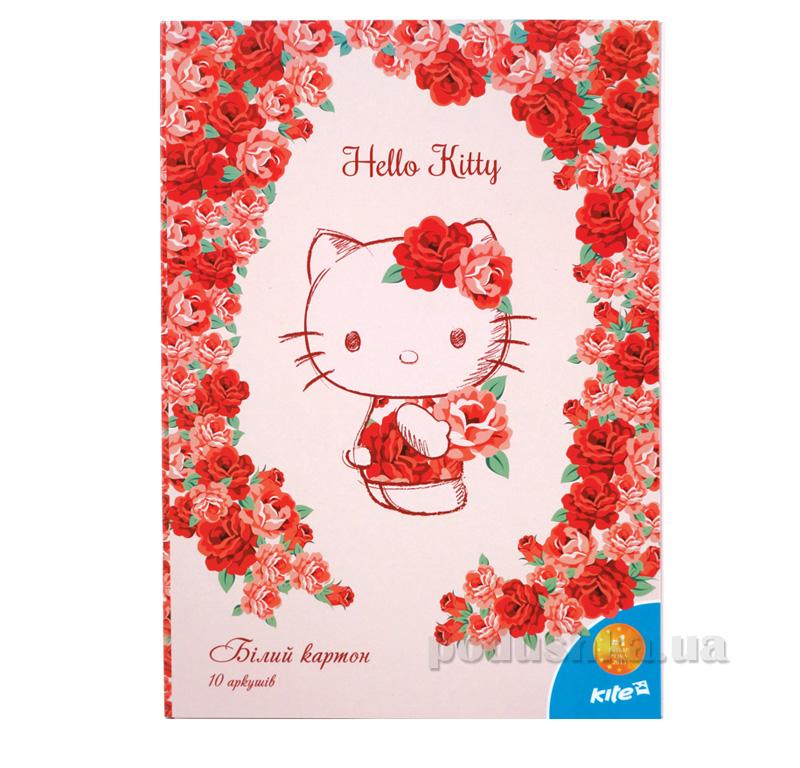 Картон белый двухсторонний Kite Hello Kitty HK15-254K