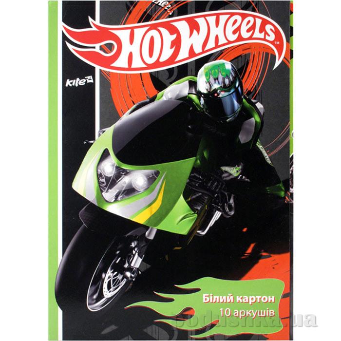 Картон белый двухсторонний Kite Hot Wheels HW14-254K