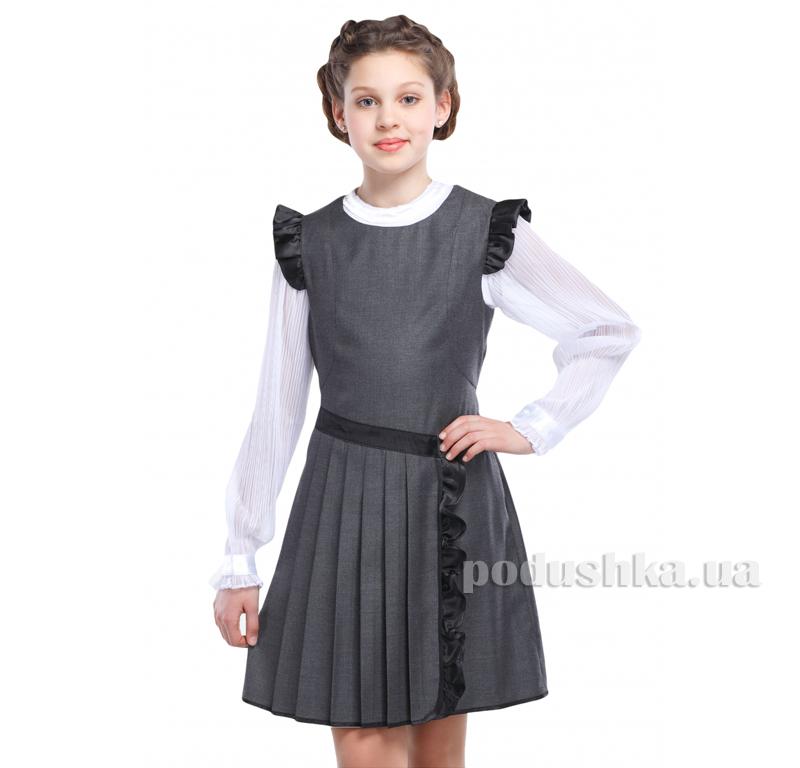 Сарафан для девочки Катюша Nui Very серый