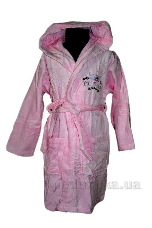 Халат детский Nusa Принцесса розовый