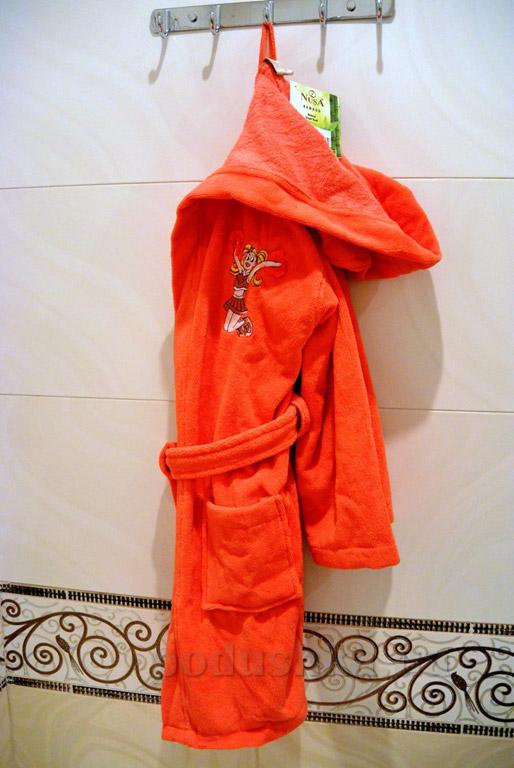 Халат детский Nusa Принцесса коралловый 5-6 лет  Nusa