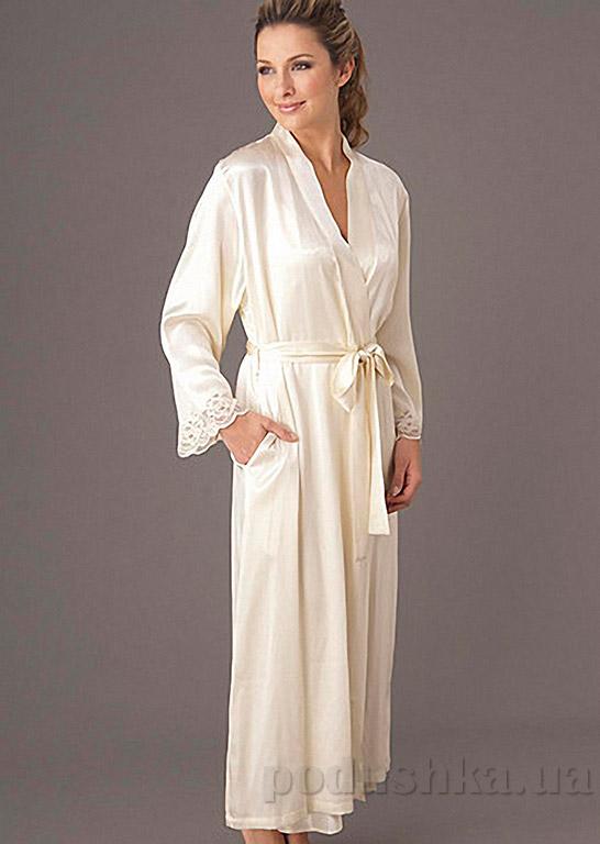 Шелковый женский халат Имате 6