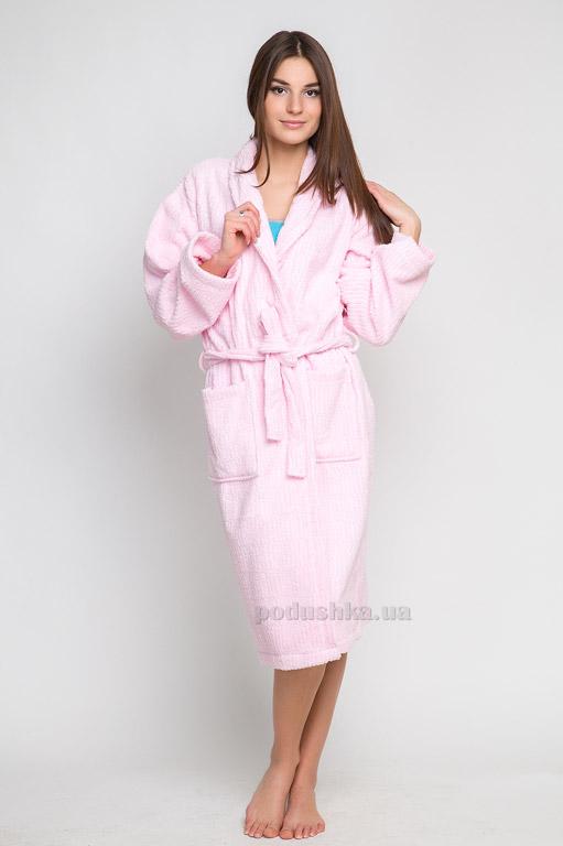 Халат махровый Home Line 114304 розовый