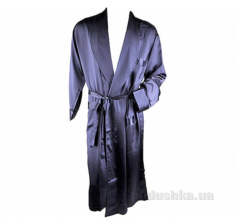 Шелковый мужской халат Имате 27