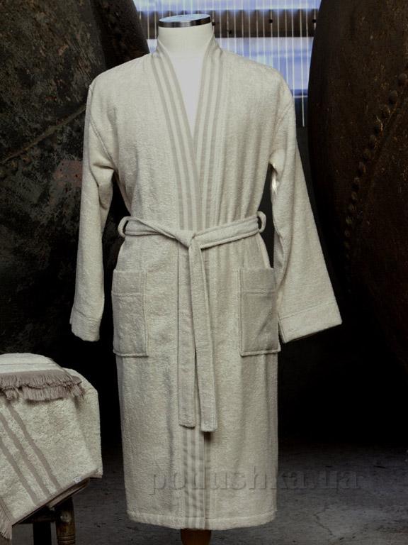 Халат мужской Pavia Rob beige