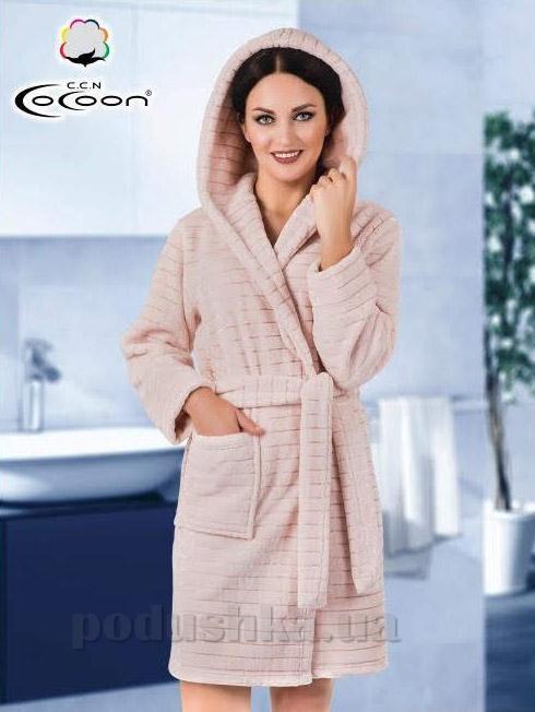 f10746427defe Халат женский Cocoon 06-5283 розовый купить в Киеве, халаты по ...