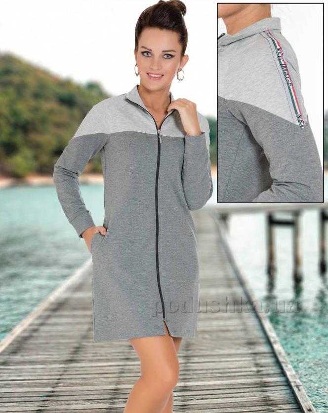 533cf8299b97 Халат женский Cocoon 12-7079 серый купить в Киеве, халаты по ...