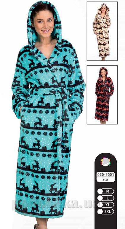 Халат женский длинный Cocoon CCN020-5001
