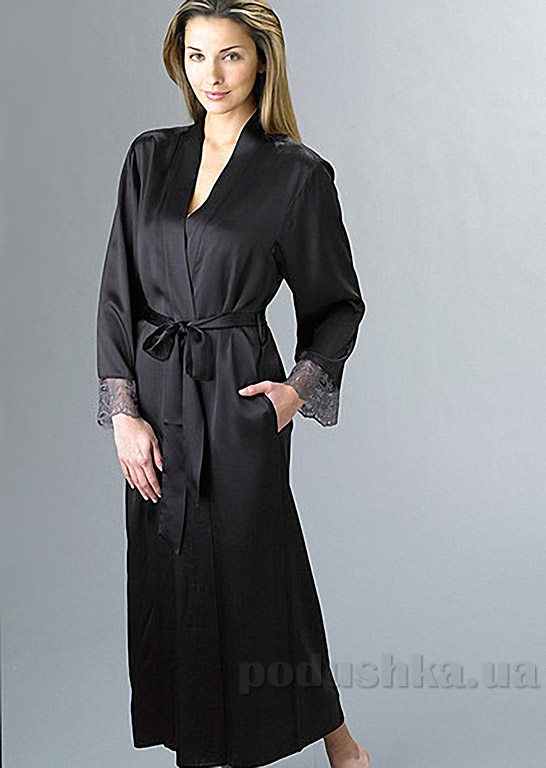 Шелковый женский халат Имате 8