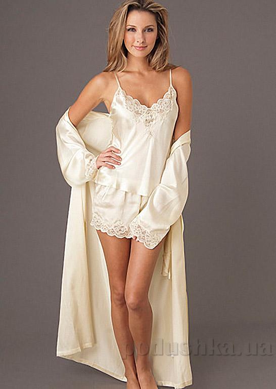 Шелковый женский халат Имате 5