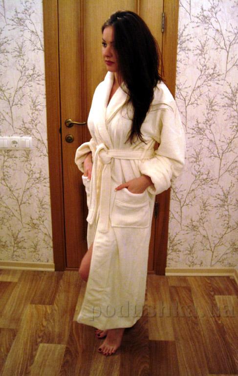 Халат женский длинный Nusa NS-3560