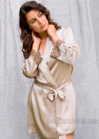 Шелковый женский халат Имате 21