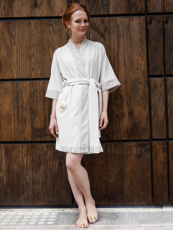 Халат женский Pavia Giselle beige
