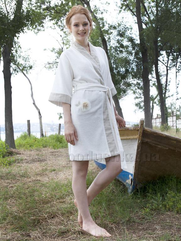 Халат женский Pavia Giselle cream