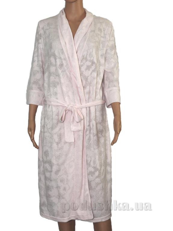Халат женский Pavia Shine pink розовый
