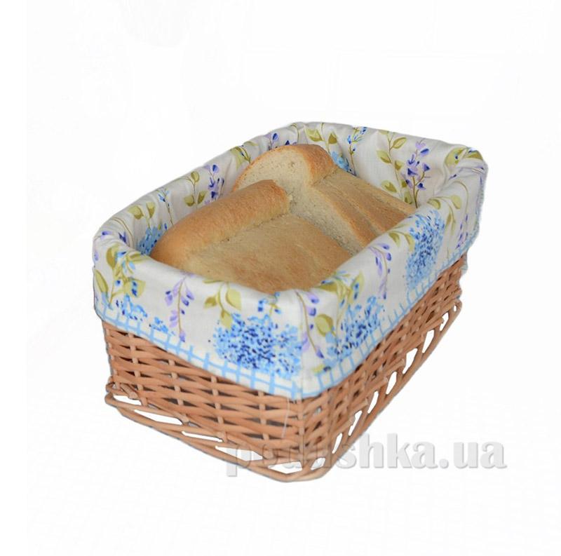 Хлебница Прованс Andre Tan голубая клетка 000169