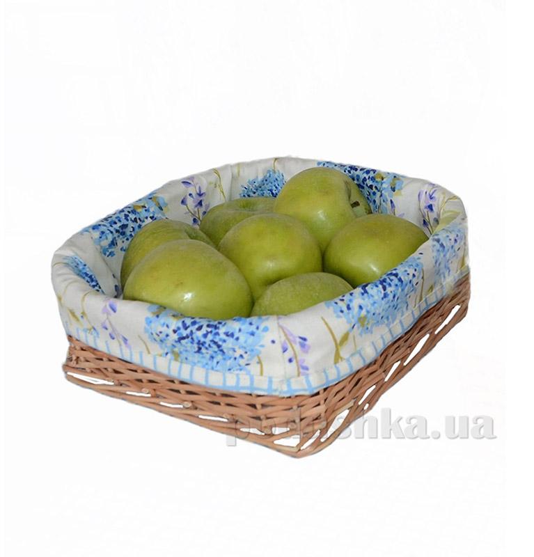 Хлебница Прованс Andre Tan голубая клетка 000170