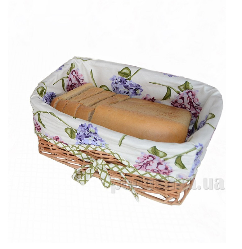 Хлебница Прованс Andre Tan оливковая клетка 000173