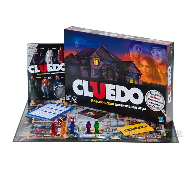 Клуэдо детективная игра Hasbro 38712