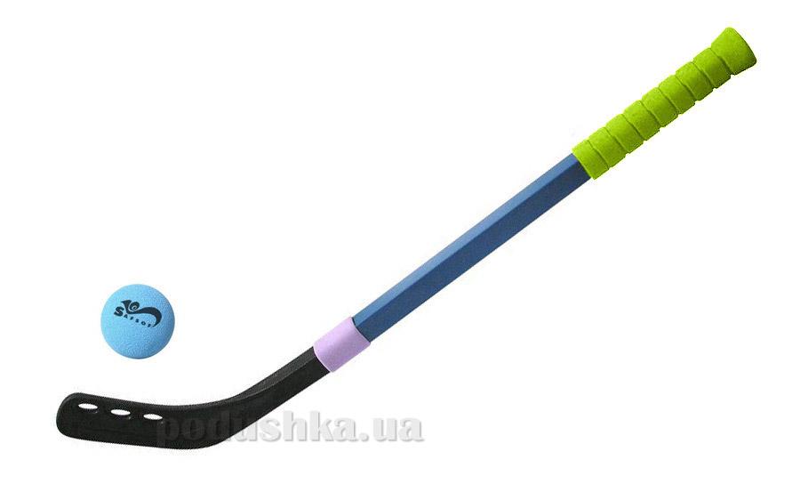 Клюшка для хоккея 70 см SafSoft с мячом