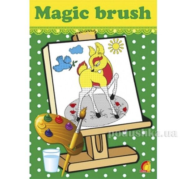 Книга детская Magic brush Лес Элвик 12126018