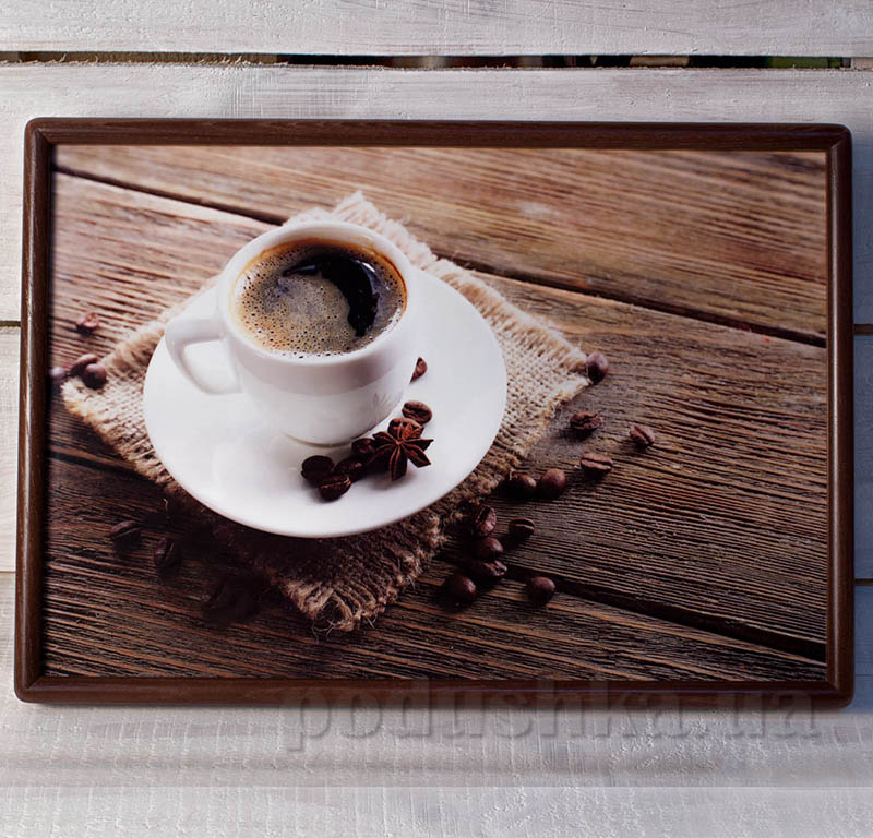 Кофейный поднос - столик с подушкой SA026P