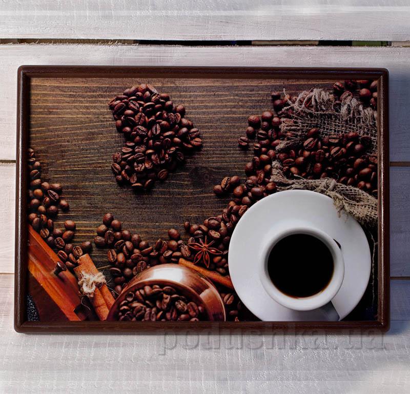 Кофейный поднос - столик с подушкой SA027P