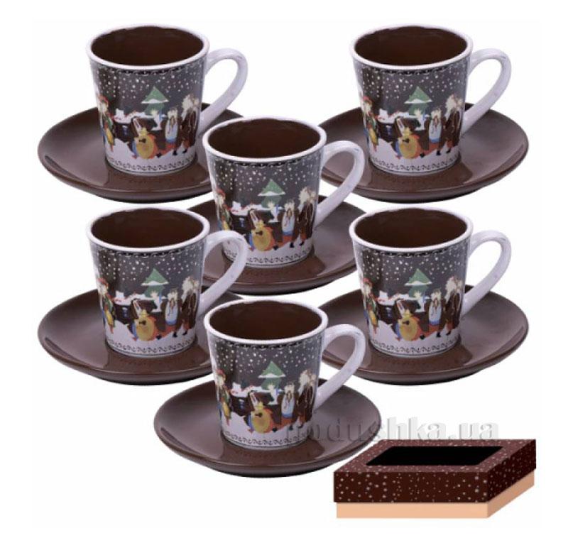 Кофейный сервиз 12 предметов Наши традиции ST 1533-03
