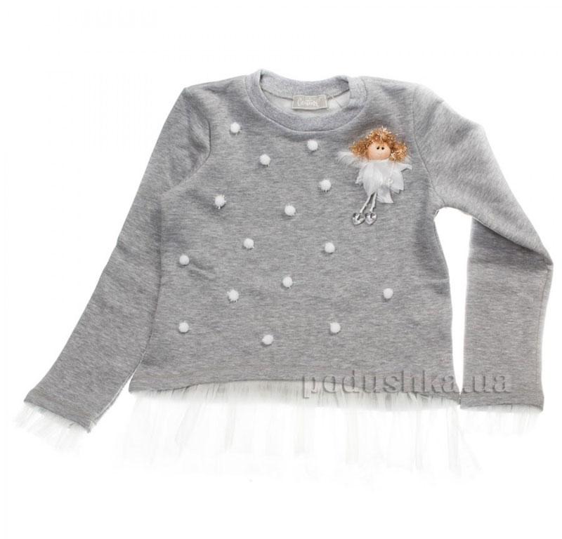 Кофта Белая фея Kids Couture 16-14 серая