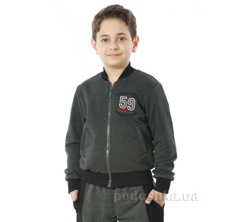 Кофта для мальчика Димакс Р 715 графит