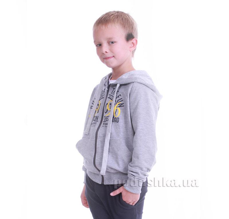 Кофта для мальчика Димакс Р 717 светло-серая