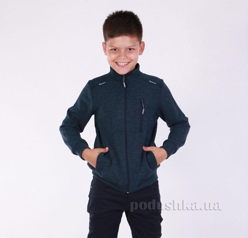 Кофта для мальчика Димакс Р 721 синяя 140  Димакс