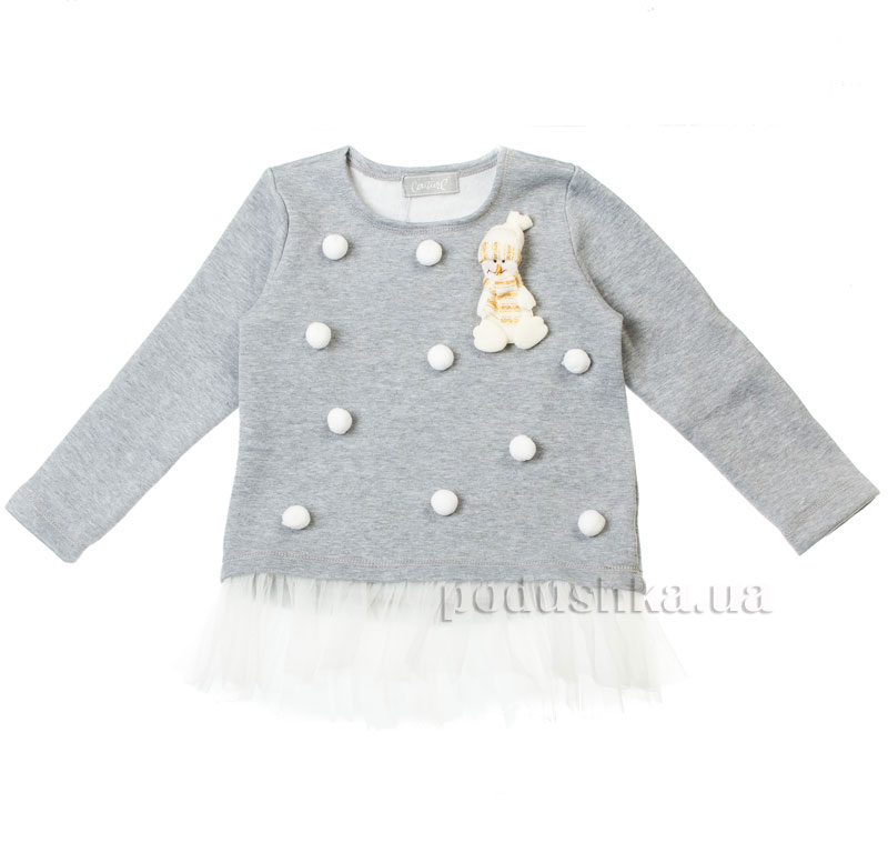 Кофта Медведь Kids Couture 16-14 серая