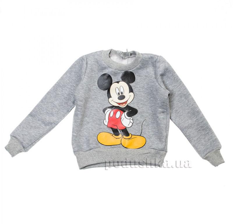 Кофта Мики Маус Kids Couture 16-15 серая