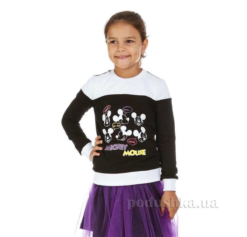 Кофта Мики Маус Kids Couture 7-002 черная