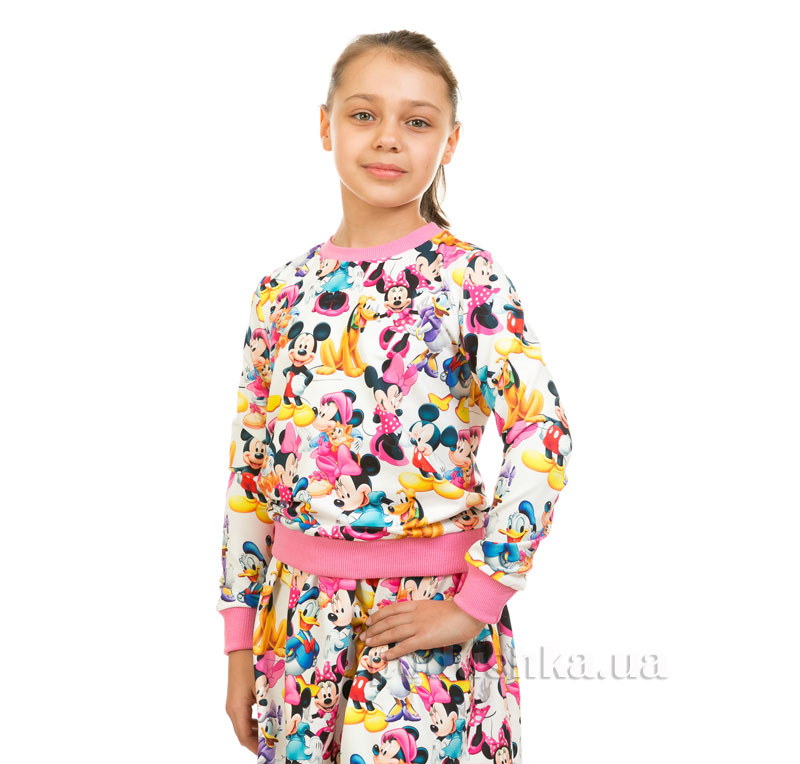 Кофта Мики Маус Kids Couture белый