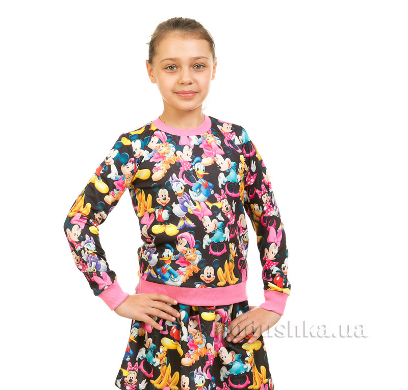 Кофта Мики Маус Kids Couture черный