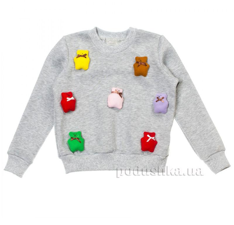 Кофта Мишки Kids Couture 15-16 серая