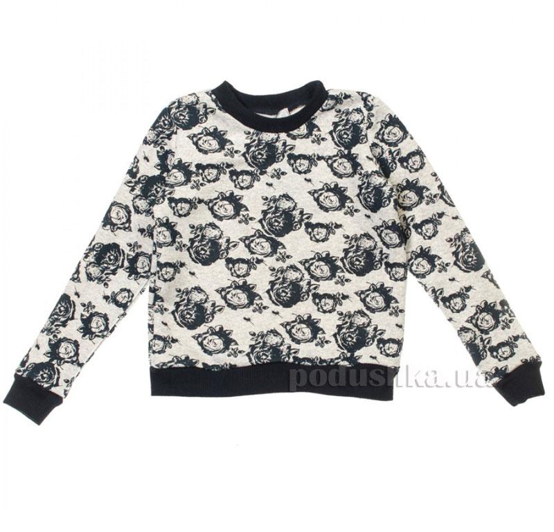 Кофта Розы Kids Couture 16-15 серая