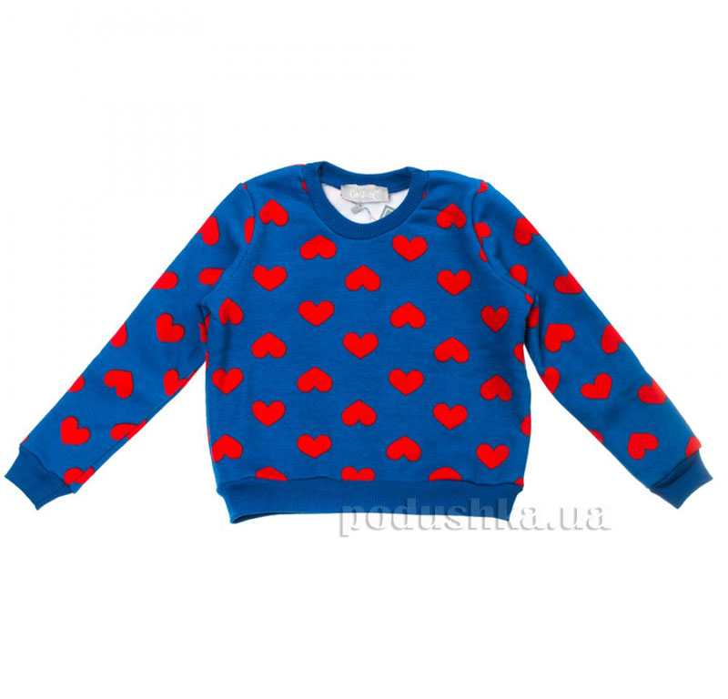 Кофта Сердце Kids Couture 16-15 синяя