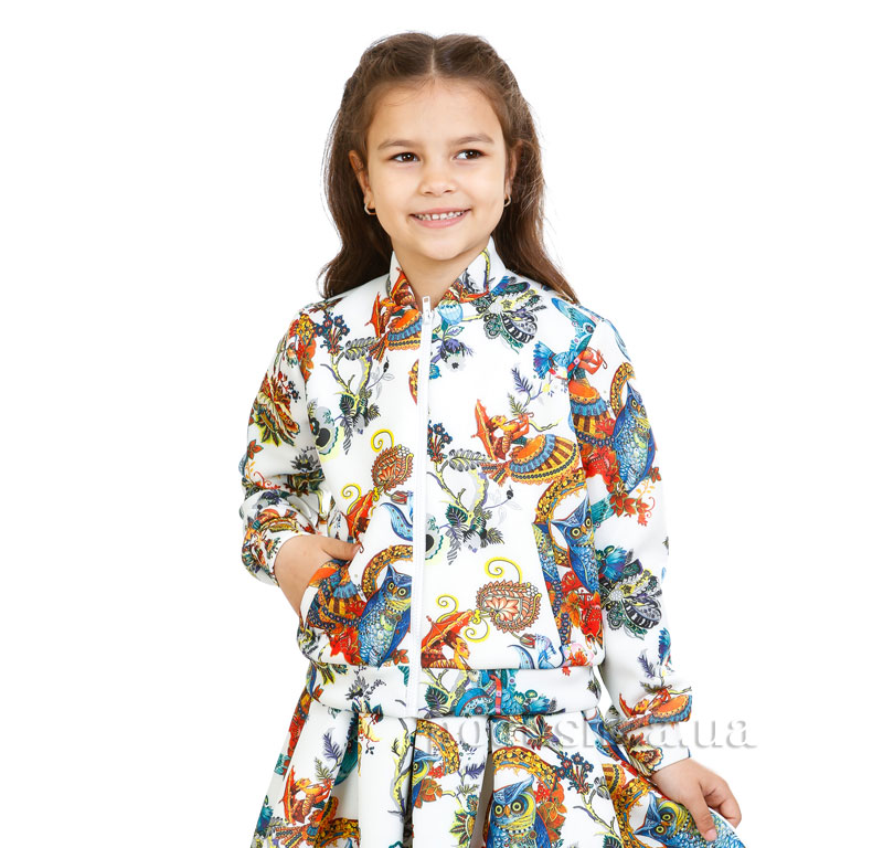 Кофта Совы Kids Couture 17-230 белая