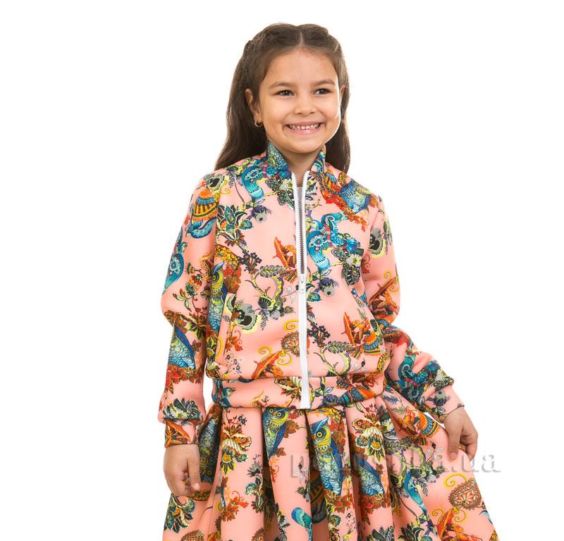 Кофта Совы Kids Couture 17-230 персиковая