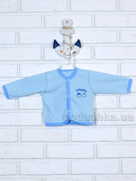 Кофточка  для мальчика Mukka м04602 голубая