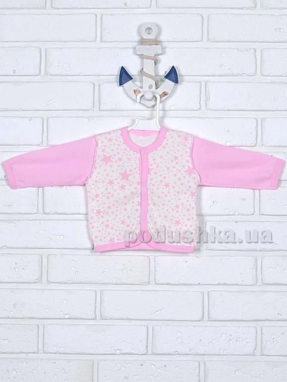 Кофточка для девочки Татошка 04502 розовая Звездочки