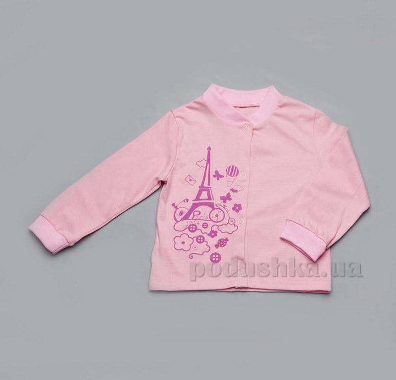 Кофточка для новорожденных девочек Модный карапуз 303-00006 розовая