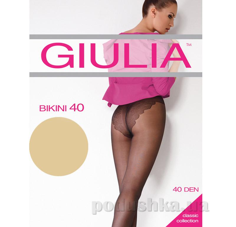 Колготки бежевые 40 Den Bikini Giulia Diano