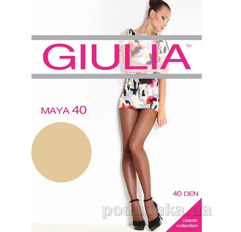 Колготки бежевые 40 Den Maya Giulia Diano