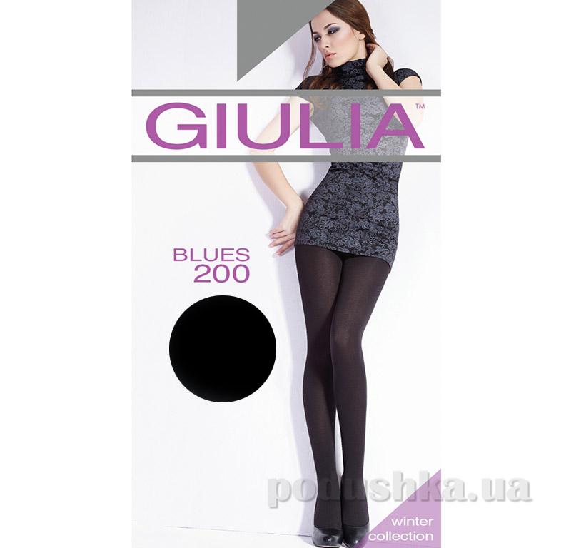 Колготки черные 200 Den Blues 3D Giulia Nero