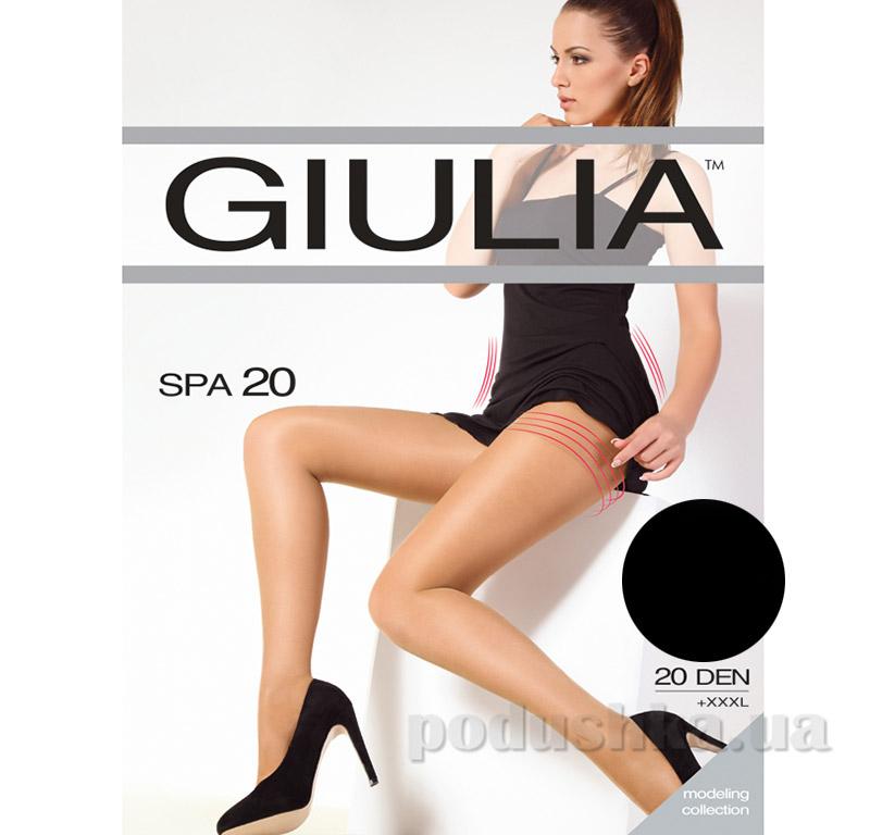 Колготки черные 20 Den кoрректирующие Spa Giulia Nero