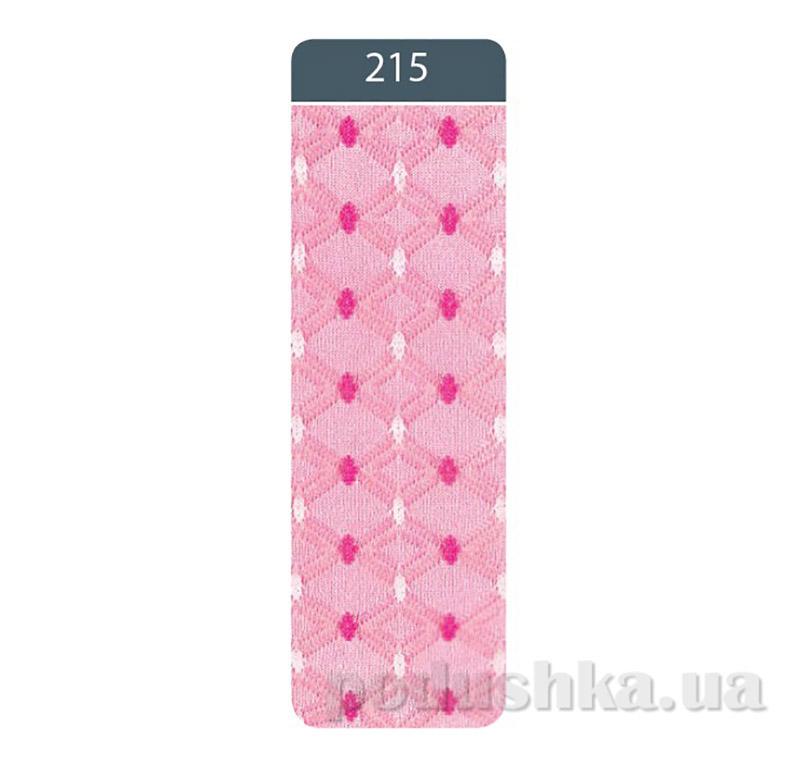 Колготки детские жаккардовые Bravo Conte 7C-44CП 215 розовые